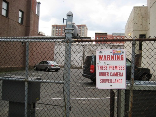 Surveillance Cameras Sign